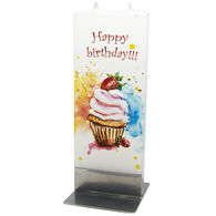 Flatyz Candle - Happy Birthday Cupcake