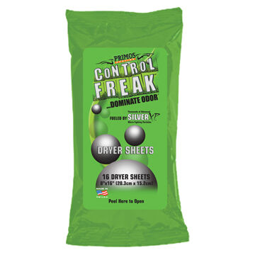 Primos Control Freak Dryer Sheets