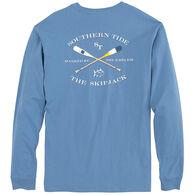 Southern Tide Men's Oars Long-Sleeve Shirt