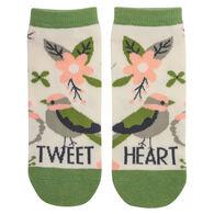 Karma Women's Bird Ankle Sock