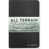 All Terrain: The Waterproof Notebook Set by Peter Pauper Press