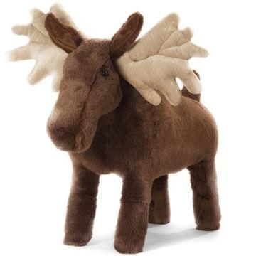 Carstens Inc Morris The Moose Foot Stool