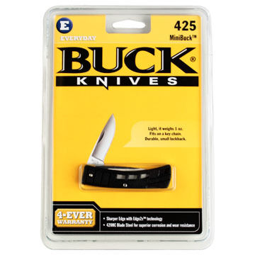 Buck Mini Buck Folding Knife - Clamshell Package