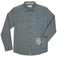 Dakota Grizzly Men's Barnes Brushed Cotton Twill Long-Sleeve Shirt