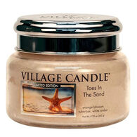 Village Candle Small Glass Jar Candle - Toes in the Sand