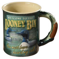 Wild Wings Welcome To The Looney Bin Mug
