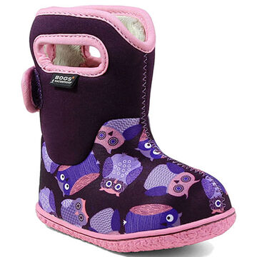 Bogs Infant/Toddler Boys Baby Owls Insulated Winter Boot