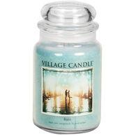 Village Candle Large Glass Jar Candle - Rain