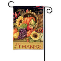 BreezeArt Harvest Blessings Garden Flag