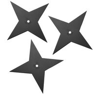 Cold Steel Light Sure Strike Throwing Star - 3 Pk.