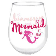 Cape Shore Maine Mermaid at Heart Wine Tumbler