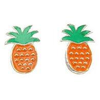 Indigo Women's Pineapple Bug Stud Earring