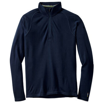 SmartWool Mens NTS Mid 250 Zip-T Thermal Baselayer Top