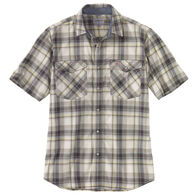 Carhartt Men's Big & Tall Rugged Flex Relaxed Fit Lightweight Snap-Front Short-Sleeve Shirt