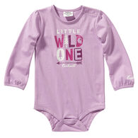 Carhartt Infant Girl's Graphic Long-Sleeve Bodysuit