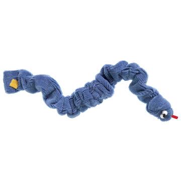 West Paw Design Wacky Worm Corduroy Dog Toy