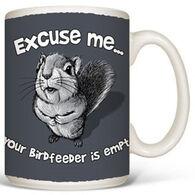 Earth Sun Moon Excuse Me Squirrel Mug