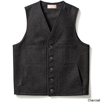Filson Mens Mackinaw Wool Vest
