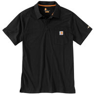 Carhartt Men's Big & Tall Force Cotton Delmont Pocket Polo Short-Sleeve Shirt