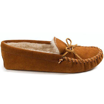 Minnetonka Mens Pile-Lined Soft Sole Moccasin