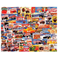 White Mountain Jigsaw Puzzle - Tasty Treats
