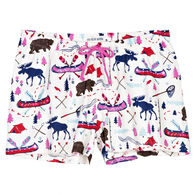 Hatley Little Blue House Women's Pretty Sketch Country Sleep Short