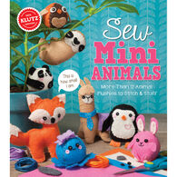 Klutz Sew Mini Animals Craft Kit by Klutz