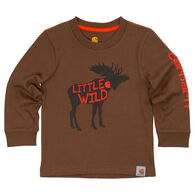Carhartt Infant/Toddler Boys' Little Wild Long-Sleeve T-Shirt
