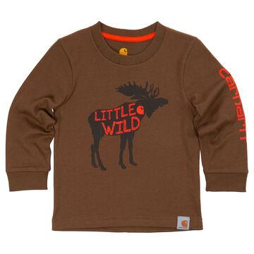 Carhartt Infant/Toddler Boys' Little Wild Long-Sleeve T-Shirt