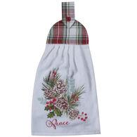 Kay Dee Designs Winter Woodland Tie Towel