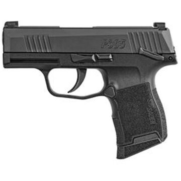 SIG Sauer P365 Nitron Manual Safety 9mm 3.1 10-Round Pistol - MA Compliant