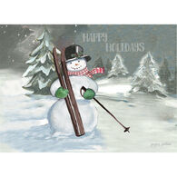 LPG Greetings Happy Holidays Snowman Boxed Christmas Cards