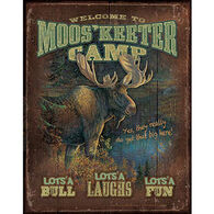 Wild Wings Mooskeeter Camp Tin Sign
