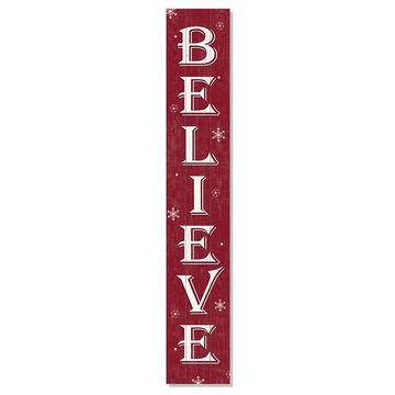 My Word! Believe Porch Board