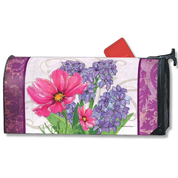 MailWraps Garden Bouquet Magnetic Mailbox Cover