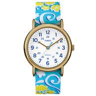 Timex Weekender Floral Reversible Strap Full-Size Watch