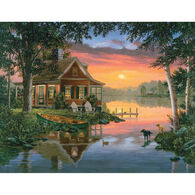 White Mountain Jigsaw Puzzle - Friends in Summer