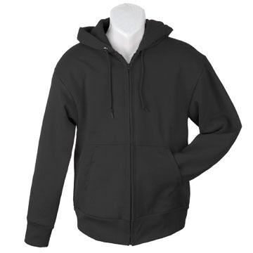 Camber Men's Big & Tall Full-Zip Hooded Fleece Sweatshirt