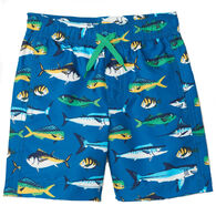Hatley Boy's Game Fish Swim Short