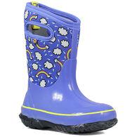 Bogs Girls' Classic Rainbow Waterproof Insulated Winter Boot