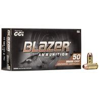 CCI Blazer 40 S&W 165 Grain FMJ FN Handgun Ammo (50)