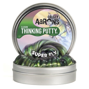 Crazy Aarons Super Fly Illusions Thinking Putty - 3.2 oz.