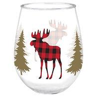 Cape Shore Maine Moose Wine Tumbler