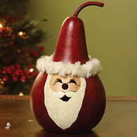 Meadowbrooke Gourds Small Winter Santa Claus Gourd
