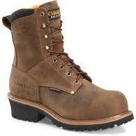 "Carolina Men's Poplar 8"" Waterproof Logger Work Boot"