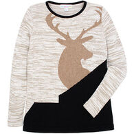 Parkhurst Women's Amandine Crew Pullover Sweater