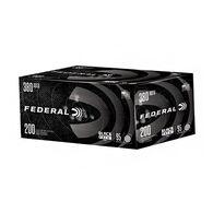 Federal Black Pack 380 Auto 95 Grain FMJ Handgun Ammo (200)