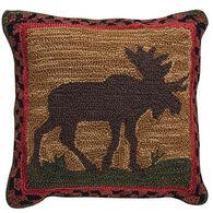 Park Designs Moose Hooked Pillow Set