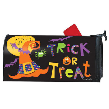 MailWraps Witches Halloween Magnetic Mailbox Cover