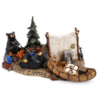 Big Sky Carvers Happy Campers Bearfoots Figurine